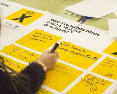 Caminis, xarxa de camins escolars a Dénia
